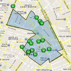 Paris 2D2E   Opération de rénovation de l'habitat dans le quartier de République