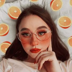 Icon by; Art Hoe Aesthetic, Peach Aesthetic, Aesthetic Makeup, Retro Aesthetic, Aesthetic Photo, Face Makeup Tips, Makeup Eye Looks, Cute Makeup, Pretty Makeup