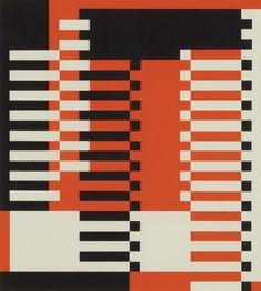 MMA Pillars by Josef Albers, 1928