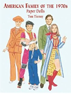 American Family of the 1970s Paper Dolls (Dover Paper Dolls)