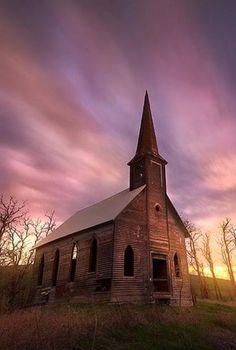 Forgotten Church In Oregon