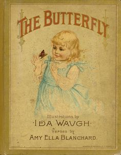 """The Butterfly"" (1890) Published By R Worthington"