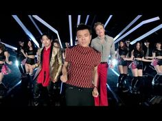 """Conan & Steven team up with J.Y. Park & a pack of K-pop superstars including the Wonder Girls and TWICE for """"Fire."""" Watch every second of #ConanKorea and exp..."""