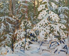 View Winter morning by Tom Thomson on artnet. Browse upcoming and past auction lots by Tom Thomson. Emily Carr, Winter Painting, Winter Art, Winter Trees, Canadian Painters, Canadian Artists, Landscape Art, Landscape Paintings, Landscapes