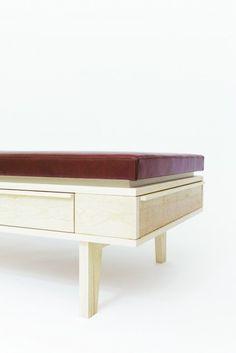 Daybed sideboard | Furniture Design by Sigurd Larsen