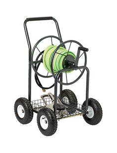 Water Hose Reel Cart 300 Ft Outdoor Garden Heavy Duty Yard Water Planting New Gardens Water