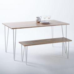 Table en chêne massif ADZA, 300€ || La Redoute Interieurs