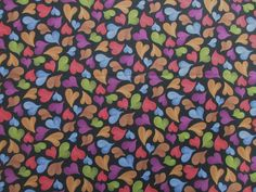 Floating Heart Fabric - Loralie Harris - Quality Cotton  - 1/2 Yard only