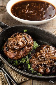 Salisbury Steak #Delicious #Paleo