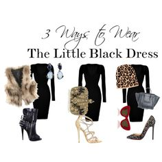 """The Little Black Dress"" styled  by norahabbal"