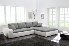Trendy Ledersofas geschnitten - Home Decoraiton Xxl Sofa, Free Hd Wallpapers, Sweet Home, House Design, Furniture, Home Decor, Living Rooms, Shape, Products