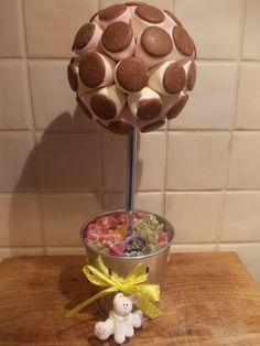 Chocolate Button/ Marshmallow Tree