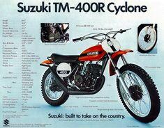 Suzuki Motocross, Suzuki Bikes, Motorcycle Posters, Retro Motorcycle, Motocross Bikes, Vintage Motocross, Scrambler Motorcycle, Motorcycle Clubs, Racing Motorcycles