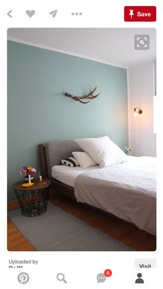 Bedroom wall paint For boys - Home Decoration Duck Egg Blue Bedroom, Blue Bedroom Walls, Blue Rooms, Bedroom Colors, Home Bedroom, Bedroom Decor, Bedroom Furniture, Farrow And Ball Bedroom, Bedroom Accessories