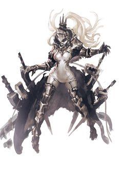N.A(@NA_htmm)さん | Twitter Fantasy Character Design, Character Creation, Character Design Inspiration, Character Concept, Character Art, Concept Art, Dnd Characters, Fantasy Characters, Fantasy Girl