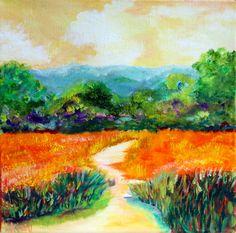 "SOLD ""Mini Marsh"" 10x10 Gallery Wrap"