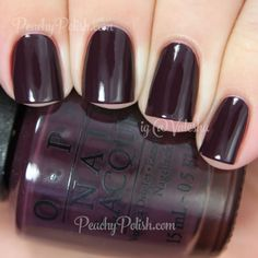 OPI Sleigh Parking Only | Holiday 2014 Gwen Stefani Collection | Peachy Polish