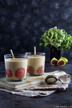 Fig & Pistachio Smoothie - The Healthy Cook