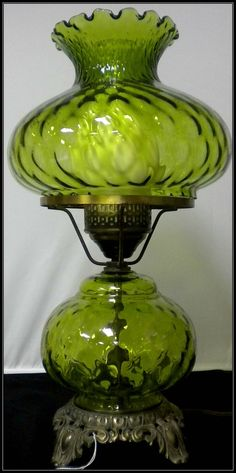victorian style hurricane lamps | Vintage Brass Eagle Electric Hurricane Oil Table Lamp for sale