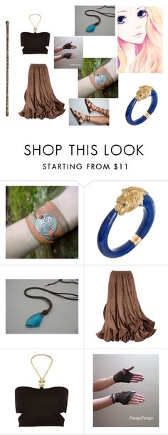 """Avatar: the last airbender"" by justinegeib ❤ liked on Polyvore featuring Van Cleef & Arpels, H2O+, Mikasa and Pacha"