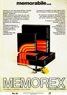 Memorex Flexible Discs (1983)