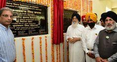Punjab CM Parkash Singh Badal inaugurated a 100 bedded hospital and a Rehabilitation Centre in Gurdaspur yesterday. #progressivepunjab #akalidal