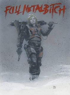 """ Edge of Tomorrow - Rita Vrataski by Travis Charest * "" Travis knows what's up. Character Concept, Character Art, Concept Art, Character Design, Character Ideas, Edge Of Tomorrow, Cyberpunk, Travis Charest, Sci Fi Art"