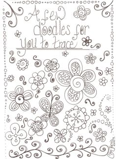 Cleo's Undomesticated scrapbooking bliss: Ooodles of Doodles