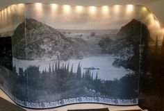 Hotel Metropole in Monaco. Hier haben wir den Wellnessbereich mit einer digitalen Tapete (von Karl Lagerfeld entworfen) verklebt. Mehr Infos unter www.farbefreudeleben.de