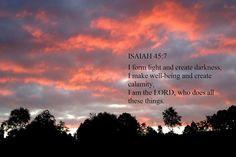 Isaiah 45 and 7