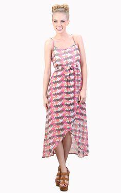 Daring Deco Spaghetti Strap Dress - Tulle4Us.com