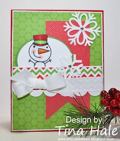Snowglobe Friend by tinahale38 - Cards and Paper Crafts at Splitcoaststampers