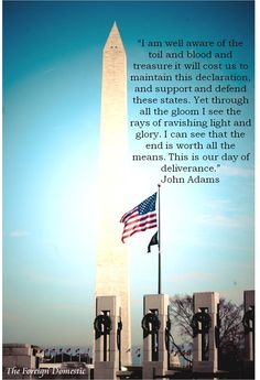 Maintaining the Declaration of Independence - John Adams