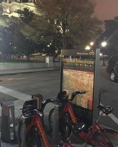 Dream come true: I never thought I would live to use the secret White House employees Capital Bikeshare station located inside the security perimeter. Thank you so much to Bakar Ali and the kind Secret Service agents on duty last week! There was no more exciting way for me to get home. According to DDOT the station which only has 9 docks [the smallest in the system] does get used by daily commuters. http://ift.tt/1PtxWQ2 by oddrobb #WhiteHouse #USA