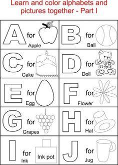31 Best Lal Lid S Class Images On Pinterest Alphabet Coloring