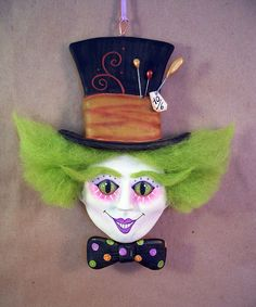 *MAD HATTER ~ Ornament by thesnippets, via Flickr