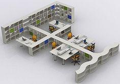 Flexible office furniture design