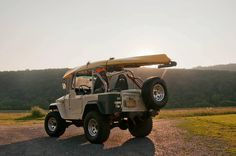 Toyota FJ40 Land Cruiser, My dad's needs to be rescued...I think I need to make it a Texas trail cruiser, :)