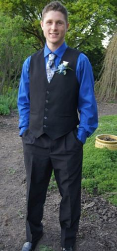 #prom2014 #Mrformaltuxedos #Mrformal Vest And Tie, Prom 2014, Tuxedo, Suits, Formal, Fashion, Preppy, Outfits, Moda