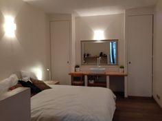 "GRET Apartment in Paris, France. Separate bedroom, king size bed (180X200), kitchenette , bathroom with italian shower. Quite little street on a heart of le Marais. ""Perfect central location within walking distance of bars, restaurants, cafes and easy as a base to visit Paris""  S..."