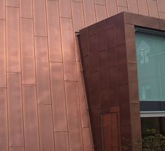 Cladding Materials, Facades, Garage Doors, It Is Finished, Metal, Outdoor Decor, Furniture, Home Decor, Copper
