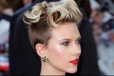 L'undercut di Scarlett Johansson