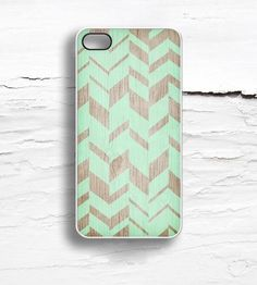 Geometric Faux Wood iPhone Case | Disaster prevention rarely looks so fly. This iPhone 5/5S case... | Mobile Phone Cases
