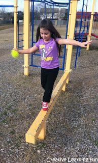 Gross Motor Thursdays: Balance Beam Fun