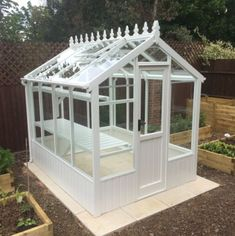 Online ordering of the Clearview Wiltshire wooden greenhouse-Free Delivery-Installation included! Victorian Greenhouses, Greenhouses For Sale, Wooden Greenhouses, Walk In Greenhouse, Backyard Greenhouse, Greenhouse Plans, Miniature Greenhouse, Outdoor Landscaping, Outdoor Gardens