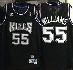 bf6781a98 Details about New Jason Williams Sacramento Kings Throwback Swingman Jersey  Purple Size S-XXL