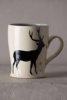 Woodland Shadow Mini Mug - anthropologie.com