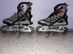 . patines de linea  con muy poco uso talla 42,se puede ver y probar  sin compromiso