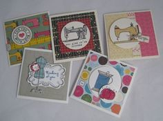 3x3 Cards- Stampin' Up by Miechelle Weber