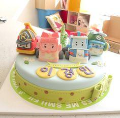 BCK RoboCar Poly Cake | Flickr: partage de photos!